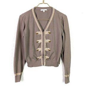CAbi Military Knit Cardigan Sweater